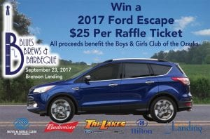 Win a 2017 Ford Escape