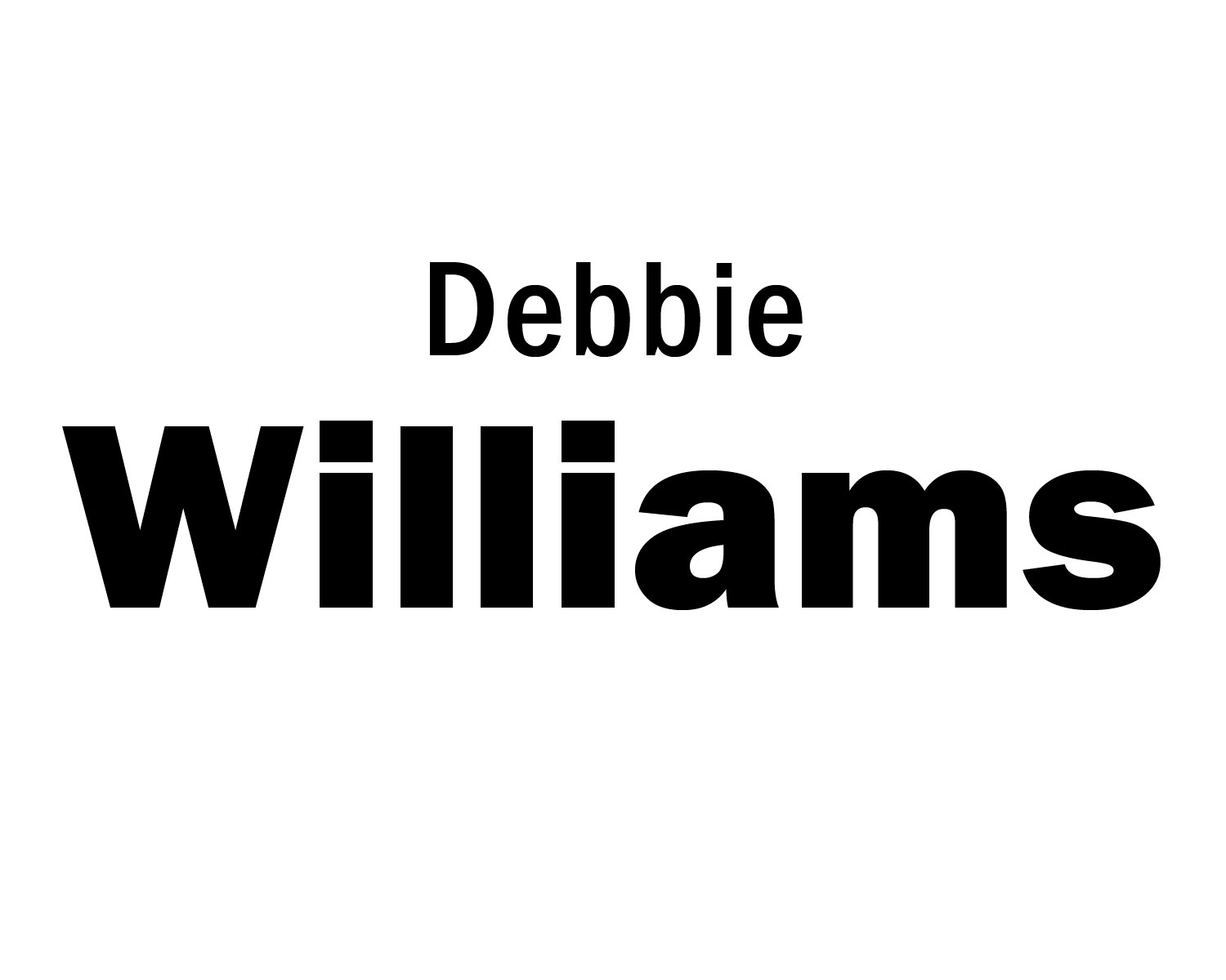 Debbie Williams